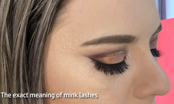 The exact meaning of mink lashes